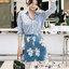 ชุดเซทแฟชั่น งานเซ็ทเสื้อเชิ๊ทเนื้อผ้าคอตตอลสีฟ้าลายริ้วโทนสีเรียบหรูสไตล์ชิค thumbnail 17