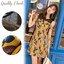 ชุดเซทแฟชั่น เซ็ตเดรส+กระโปรงใส่เข้าชุดกัน ตัวเดรสสั้นสีเหลือง พิมพ์ลายใบไม้สวย thumbnail 2