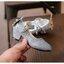 รองเท้าคัทชูเด็กสีเงิน มีส้น thumbnail 6