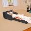 ฮ มีของพร้อมส่งนะคะ โซฟาเป่าลม Pull-Out Chair Intex โซฟาเป่าลม ขนาด 107x221x66 ซม. รุ่น 68565 (สีดำ) thumbnail 3