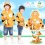 """"""" ( S-M-L """" เสื้อแจ็คเก็ต Jacket Disney Tigger เสื้อกันหนาว แขนยาว เด็กผู้ชาย & เด็กผู้หญิง สกรีนลาย ทิกเกอร์ สีส้มอ่อน รูดซิป มีหมวก(ฮู้ด)สีส้ม ใส่คลุมกันหนาว กันแดด ใส่สบาย ดิสนีย์แท้ ลิขสิทธิ์แท้ (Size S-M-L) thumbnail 1"""