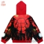 """"""" S-M-L-XL """" เสื้อแจ็คเก็ต The Avengers - Iron Man เสื้อกันหนาว เด็กผู้ชาย สีแดง รูดซิป มีหมวก(ฮู้ด) ใส่คลุมกันหนาว กันแดด สุดเท่ห์ ใส่สบาย ลิขสิทธิ์แท้ (ไซส์ S-M-L-XL ) thumbnail 8"""