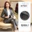 พรีออเดอร์ ชุดสูทกางเกงผู้หญิง สีเทา (เสื้อสูทแขนยาว+กางเกง) ผ้าผสม แฟชั่นเกาหลี thumbnail 3