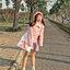 [พร้อมส่ง] เสื้อแจ็คเก็ตน่ารักสไตล์เกาหลี มีสีชมพู/เทา/เขียว thumbnail 8