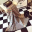 พร้อมส่ง ~ ผ้าพันคอ Lv Logomania scarf ทอลาย monogram pattern thumbnail 5