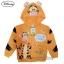 """"""" ( S-M-L """" เสื้อแจ็คเก็ต Jacket Disney Tigger เสื้อกันหนาว แขนยาว เด็กผู้ชาย & เด็กผู้หญิง สกรีนลาย ทิกเกอร์ สีส้มอ่อน รูดซิป มีหมวก(ฮู้ด)สีส้ม ใส่คลุมกันหนาว กันแดด ใส่สบาย ดิสนีย์แท้ ลิขสิทธิ์แท้ (Size S-M-L) thumbnail 7"""