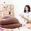 หมอนอุ้มรัก Jasmine หมอนสำหรับคุณแม่ตั้งครรภ์ ช่วยคุณแม่หลับสบาย หลังคลอดใช้เป็นหมอนให้นมได้ thumbnail 10