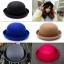 [พร้อมส่ง] หมวกชาลี : ผ้าสักหลาด ทรงกลม thumbnail 1