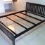 เตียงเหล็ก เหลี่ยม สีดำ thumbnail 1