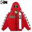 """"""" S-M-L-XL """" เสื้อแจ็คเก็ต Ben10 เสื้อกันหนาว เด็กผู้ชาย สกรีนโลโก้Ben10 รูดซิป มีหมวก(ฮู้ด)ด้านหลังสกรีนลาย Ben10 ใส่คลุมกันหนาว กันแดด สุดเท่ห์ ใส่สบาย ลิขสิทธิ์แท้ (ไซส์ S-M-L-XL ) thumbnail 5"""