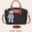 กระเป๋าสะพายนำเข้า รุ่นทรงคล้าย Longchamp ห้อยน้องหมี ฺฺBrand thumbnail 1