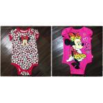 เสื้อผ้าเด็ก ชุดบอดี้สูทเด็ก บอดี้สูทเด็กหญิง แขนสั้น บอดี้สูทแบรนด์เนม Disney ขนาด 0-3(ด) , ขนาด 3-6(ด)