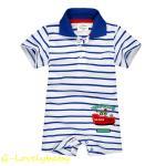 เสื้อผ้าเด็ก ชุดบอดี้สูทเด็ก ชุดบอดี้สูทเด็กอ่อน ชุดบอดี้สูทเด็กแขนสั้น คอโปโล แบรนด์ jumping beans