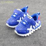 รองเท้าเด็ก รองเท้าผ้าใบเด็ก รองเท้าเด็กวัยหัดเดิน รองเท้าเด็กเล็ก Sport สไตล์นักกีฬา พื้นยางกันลื่น Baby Shoes 1-4 ขวบ