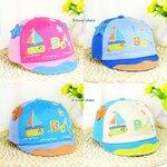 หมวกเด็ก หมวกเด็กอ่อน หมวกเด็กลายเรือใบ