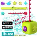 luiwa safe n found ชุด อุปกรณ์ป้องกันลูกหาย อุปกรณ์ติดตามเด็ก ราคาประหยัด ไม่ต้องใช้ sim card