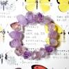 ++ Ametrine - อเมทริน สีม่วงอ่อนใส ทรงรักบี้เจียระไนเหลี่ยม สวยงามมาก ๆ ค่ะ ++