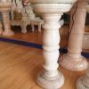 โต๊ะหินอ่อนวางโชว์ สูง 60 เซนติเมตร (ขาดเล็ก)