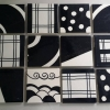 Black & White Paint Tiles