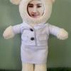 ตุ๊กตาหมีใส่ชุดพยาบาล