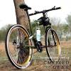 รถจักรยานพับได้ฮัมเมอร์เอช HUMMER H Folding Bike 21-Speed (สีเขียว)