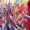 """Fighter's Rubber Play Mat Vol.7 Cardfight!! Vanguard G - [Haten Kouryuu Dragonic Overlord """"The Ace""""]"""