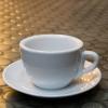ชุดกาแฟพร้อมจานรอง
