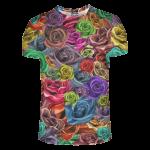 เสื้อยืดพิมพ์ลาย MR.GUGU & Miss GO : Roses t-shirt