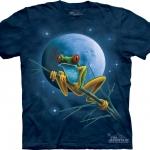 Pre.เสื้อยืดพิมพ์ลาย3D The Mountain T-shirt : Celestial Frog