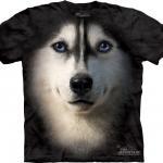 Pre.เสื้อยืดพิมพ์ลาย3D The Mountain T-shirt : Siberian Face