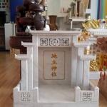 ศาลเจ้าที่จีน 27 นิ้ว 5 หลังคา (หินขาวกรีก)