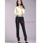 (Pre-Order) กางเกงผู้หญิงทำงาน กางเกงสูท กางเกงขายาว กางเกงขาตรงหรือทรงกระบอก G2000