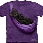 Pre.เสื้อยืดพิมพ์ลาย3D The Mountain T-shirt : Cats Cradle