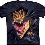 Pre.เสื้อยืดพิมพ์ลาย3D The Mountain T-shirt : T-Rex Tearinge