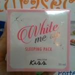 Malissa Kiss White Me Up Sleeping Pack ราคาถูก ราคาส่ง ของแท้