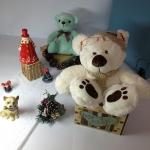 ตุ๊กตาหมีใส่หมวก size M