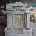 ศาลเจ้าที่จีน 42 นิ้ว 5 หลังคา (หินเทาลายเมฆ)