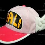 หมวก ARALE อาราเล่ สีชมพูอ่อน-เข้ม 2 tone