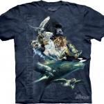 Pre.เสื้อยืดพิมพ์ลาย3D The Mountain T-shirt : Endangered