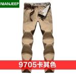 Pre-order กางเกงขายาว กางเกงธุรกิจ แฟชั่นสไตล์อเมริกันคลาสสิก หนุ่มมาดเท่ ขาลุย สีกากี NIAN Jeep