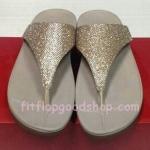 รองเท้า Fitflob Astrid Sandal  หูหนีบเกล็ดเพชร สีครีม No.FF146