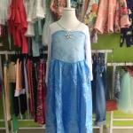 ชุดกระโปรง Frozen Elsa เจ้าหญิงเอลซ่า สีชมพู