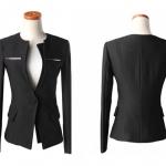พรีออเดอร์ เสื้อแขนยาว เสื้อสูทผู้หญิง ชุดเสื้อสูททำงาน แฟชั่นเสื้อสูทมาใหม่ จากเกาหลี ของแท้