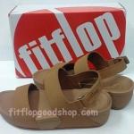 รองเท้า Fitflop New สวม รัดส้น สีน้ำตาล No.FF425