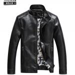 Pre-Order เสื้อแจ็คเก็ตหนังแกะ ผิวมัน สีดำ (สินค้าช่วงโปรโมชั่นพิเศษ)