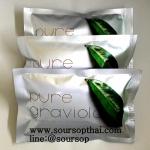 ใบทุเรียนเทศ100% ในซองชา 2กรัม90ซองชา (180 กรัม) (Pure Air Dried Soursop Leaves in Tea Bag 2Grams X90 = 180Grams)