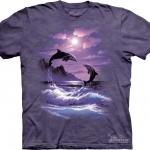 Pre.เสื้อยืดพิมพ์ลาย3D The Mountain T-shirt : Romancing the Moon MD