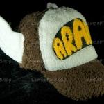 หมวก ARALE อาราเล่ รุ่นขนปุย สีน้ำตาล