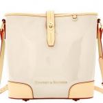 Pre-Order กระเป๋าหนังแก้วสีฟ้าครีม Dooney & Bourke Claremont' Crossbody Bucket Bag กระเป๋าถือใบเล็ก กระเป๋าแฟชั่นผู้หญิงทำงาน