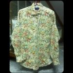 [พร้อมส่ง] เสื้อคลุม&เสื้อเชิร์ตแขนยาว ลายดอกกุหลาบสีครีม : Cream Rose